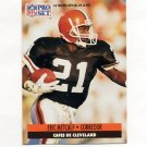 1991 Pro Set Spanish Football #042 Eric Metcalf - Cleveland Browns