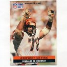1991 Pro Set Spanish Football #034 Anthony Munoz - Cincinnati Bengals
