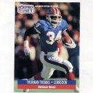 1991 Pro Set Spanish Football #018 Thurman Thomas - Buffalo Bills