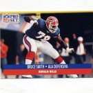 1991 Pro Set Spanish Football #016 Bruce Smith - Buffalo Bills