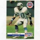 1992 Pro Set Football HOF Inductees #SC1 Lem Barney - Detroit Lions
