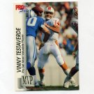 1992 Pro Set Football Gold MVPs #MVP28 Vinny Testaverde - Tampa Bay Buccaneers