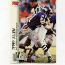 1992 Pro Set Football Gold MVPs #MVP22 Terry Allen - Minnesota Vikings