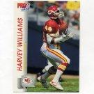 1992 Pro Set Football #535 Harvey Williams - Kansas City Chiefs