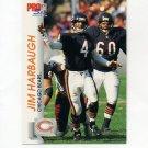 1992 Pro Set Football #449 Jim Harbaugh - Chicago Bears