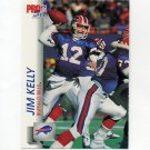 1992 Pro Set Football #442 Jim Kelly - Buffalo Bills