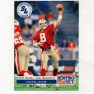 1992 Pro Set Football #005 Steve Young LL - San Francisco 49ers