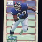 1993 Power Update Football Prospects #51 Michael Strahan RC - New York Giants