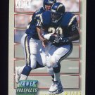 1993 Power Update Football Prospects #18 Natrone Means RC - San Diego Chargers