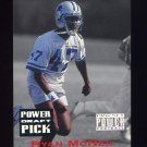 1993 Power Football Draft Picks #08 Ryan McNeil UER - Detroit Lions