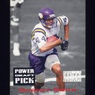 1993 Power Football Draft Picks #03 Robert Smith UER - Minnesota Vikings