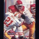 1993 Power Football Power Moves #PM33 Marcus Allen - Kansas City Chiefs