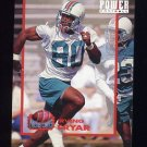 1993 Power Football Power Moves #PM16 Irving Fryar - Miami Dolphins