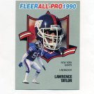 1990 Fleer Football All-Pros #14 Lawrence Taylor - New York Giants