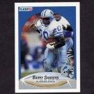 1990 Fleer Football #284 Barry Sanders - Detroit Lions