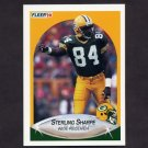 1990 Fleer Football #180 Sterling Sharpe - Green Bay Packers
