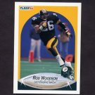 1990 Fleer Football #152 Rod Woodson - Pittsburgh Steelers