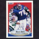 1990 Fleer Football #121 Bruce Smith - Buffalo Bills