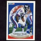 1990 Fleer Football #077 Lawrence Taylor - New York Giants