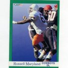 1991 Fleer Football #423 Russell Maryland RC - Dallas Cowboys