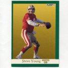 1991 Fleer Football #367 Steve Young - San Francisco 49ers
