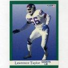 1991 Fleer Football #319 Lawrence Taylor - New York Giants