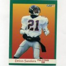 1991 Fleer Football #210 Deion Sanders - Atlanta Falcons