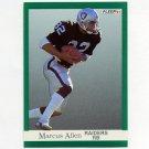 1991 Fleer Football #102 Marcus Allen - Los Angeles Raiders