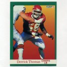 1991 Fleer Football #100 Derrick Thomas - Kansas City Chiefs