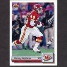 1992 Upper Deck Football Gold #G34 Harvey Williams - Kansas City Chiefs