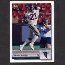 1992 Upper Deck Football Gold #G27 Deion Sanders - Atlanta Falcons