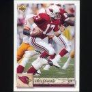 1992 Upper Deck Football #544 Chris Chandler - Phoenix Cardinals