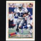 1992 Upper Deck Football #516 Emmitt Smith SBK - Dallas Cowboys