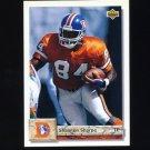 1992 Upper Deck Football #499 Shannon Sharpe - Denver Broncos