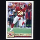 1992 Upper Deck Football #144 Derrick Thomas - Kansas City Chiefs