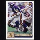 1992 Upper Deck Football #063 Terry Allen - Minnesota Vikings