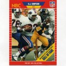 1989 Pro Set Football Announcers #29 O.J. Simpson