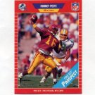 1989 Pro Set Football #521 Rodney Peete RC - Detroit Lions