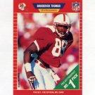 1989 Pro Set Football #515 Broderick Thomas RC - Tampa Bay Buccaneers
