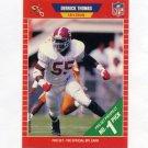 1989 Pro Set Football #498 Derrick Thomas RC - Kansas City Chiefs