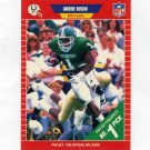 1989 Pro Set Football #497 Andre Rison UER RC - Indianapolis Colts
