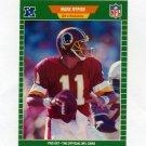 1989 Pro Set Football #434 Mark Rypien RC - Washington Redskins