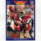 1989 Pro Set Football #383 Jerry Rice - San Francisco 49ers