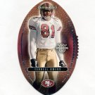 2003 Upper Deck Standing O Football Die Cuts #58 Terrell Owens - San Francisco 49ers
