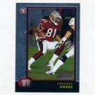 1998 Bowman Chrome Football #93 Terrell Owens - San Francisco 49ers