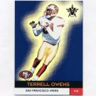 2000 Vanguard Football #114 Terrell Owens - San Francisco 49ers