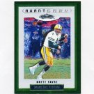 2002 Fleer Showcase Football #135 Brett Favre AC - Green Bay Packers