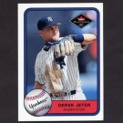 2001 Fleer Platinum Baseball #332 Derek Jeter - New York Yankees