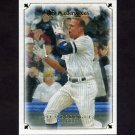 2007 UD Masterpieces Baseball #072 Alex Rodriguez - New York Yankees