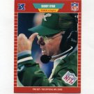 1989 Pro Set Football #327 Buddy Ryan CO - Philadelphia Eagles